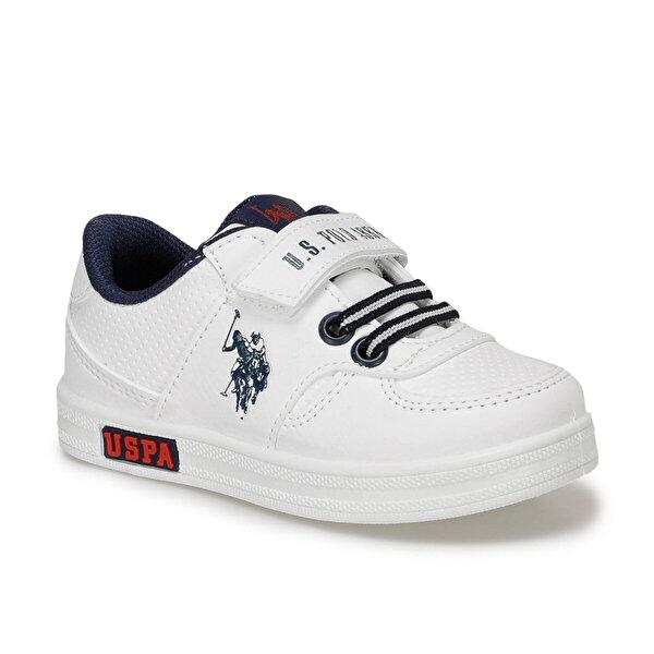 U.S. Polo Assn. CAMERON Beyaz Erkek Çocuk Sneaker
