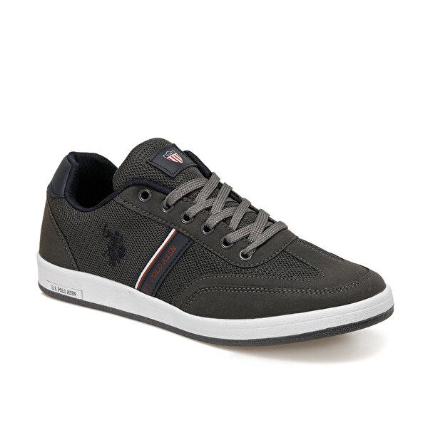 U.S. Polo Assn. KARES Gri Erkek Sneaker Ayakkabı