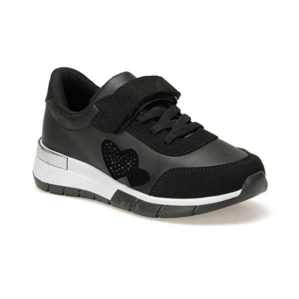 Seventeen SOLANA.19F Siyah Kız Çocuk Spor Ayakkabı