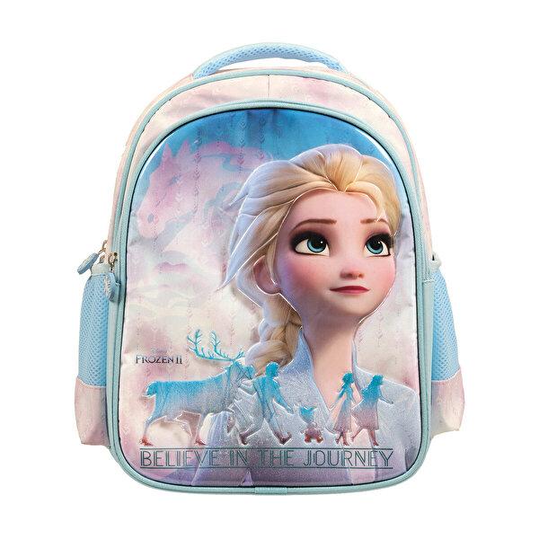 Frozen İLKOKUL ÇANTASI LO Mavi Kız Çocuk Okul Çantası