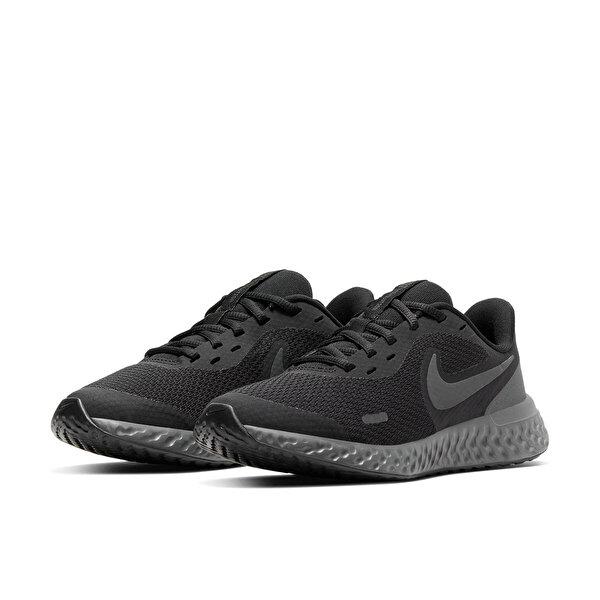 Nike REVOLUTION 5 (GS) Siyah Kadın Koşu Ayakkabısı