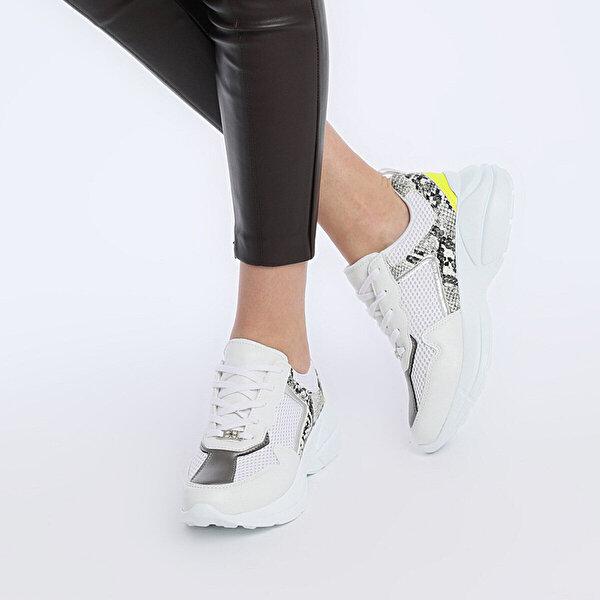 Butigo 19S-602 Beyaz Kadın Sneaker