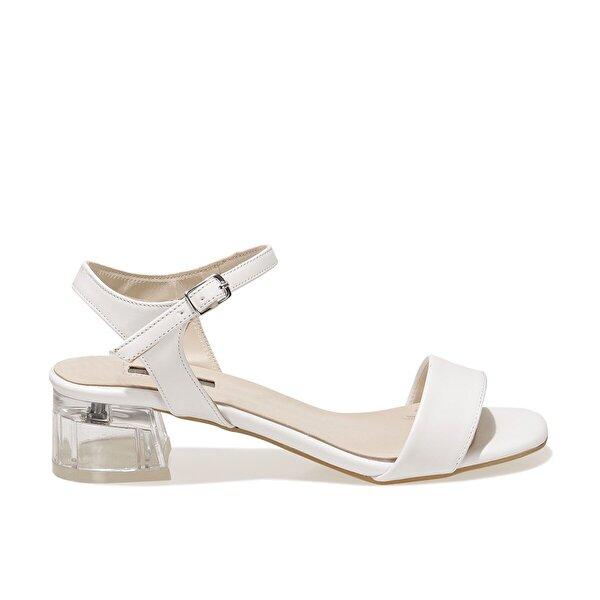 Butigo 21S-4701FX Beyaz Kadın Sandalet