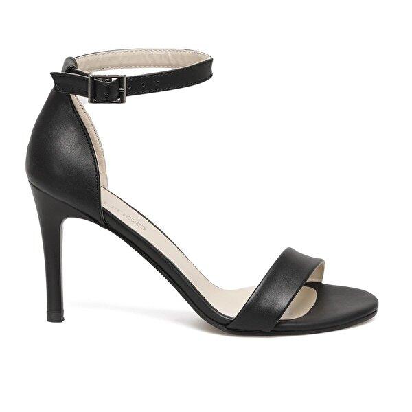 Butigo ARYA 1FX Siyah Kadın Topuklu Ayakkabı