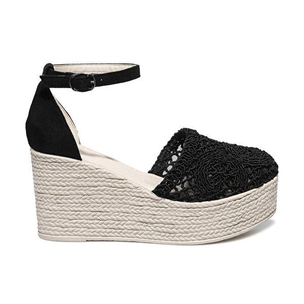 Butigo HOLLY 1FX Siyah Kadın Sandalet