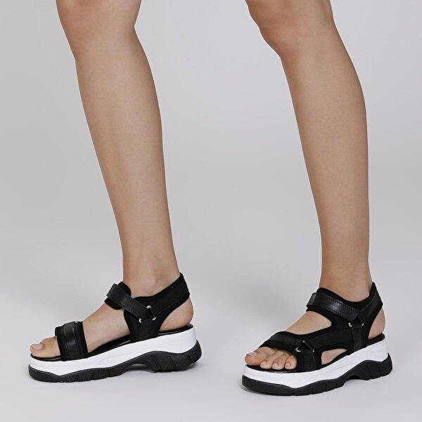 Butigo 20S-4921FX Siyah Kadın Sandalet