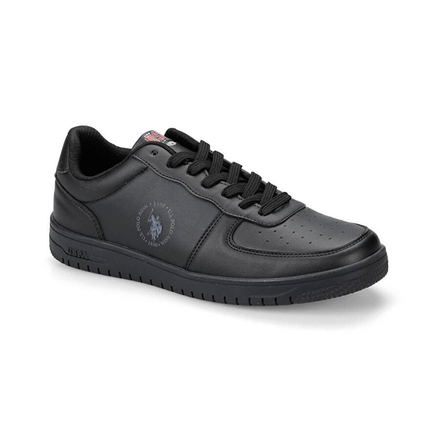 U.S. Polo Assn. DIMLER Siyah Erkek Sneaker Ayakkabı
