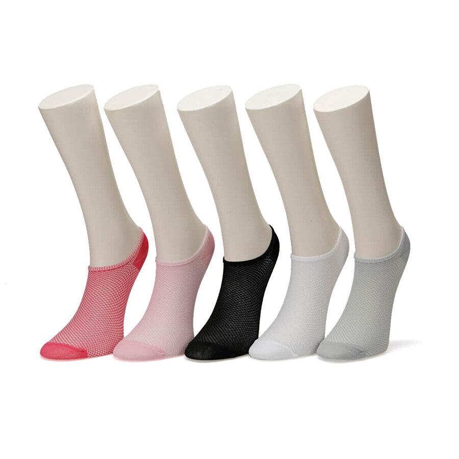Kinetix WOMANN Çok Renkli Kadın Çorap