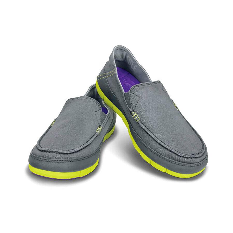 Crocs STRETCH SOLE Gri Erkek Sneaker