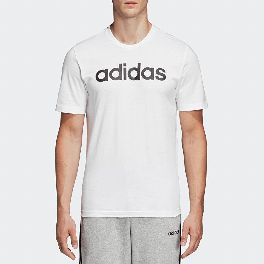 Adidas E LIN Beyaz Erkek T-Shirt