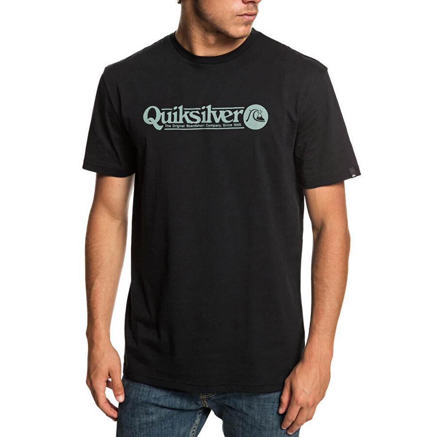 QUIKSILVER ARTTICKLESS M TEES Siyah Erkek T-Shirt