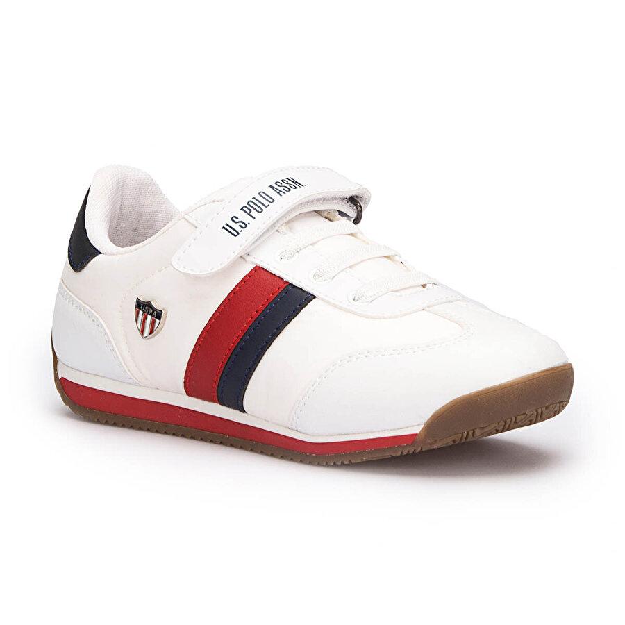 U.S. Polo Assn. BONI Beyaz Erkek Çocuk Yürüyüş Ayakkabısı