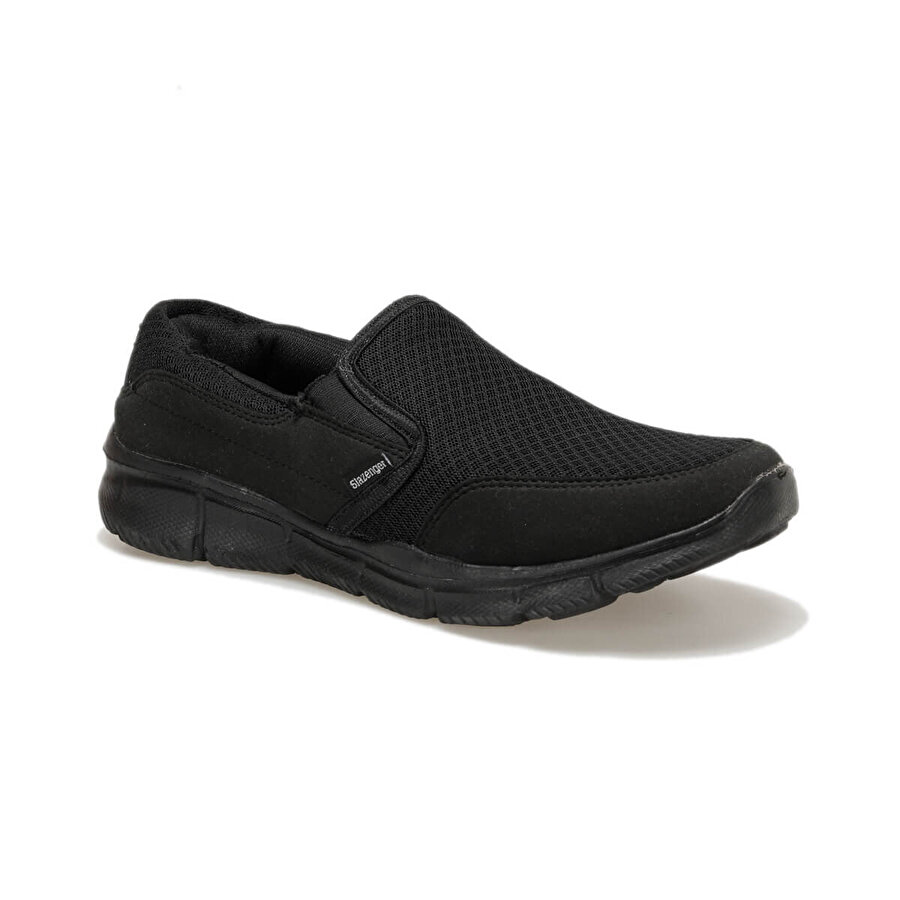Slazenger EREN - BLACK / BLACK Siyah Erkek Yürüyüş Ayakkabısı