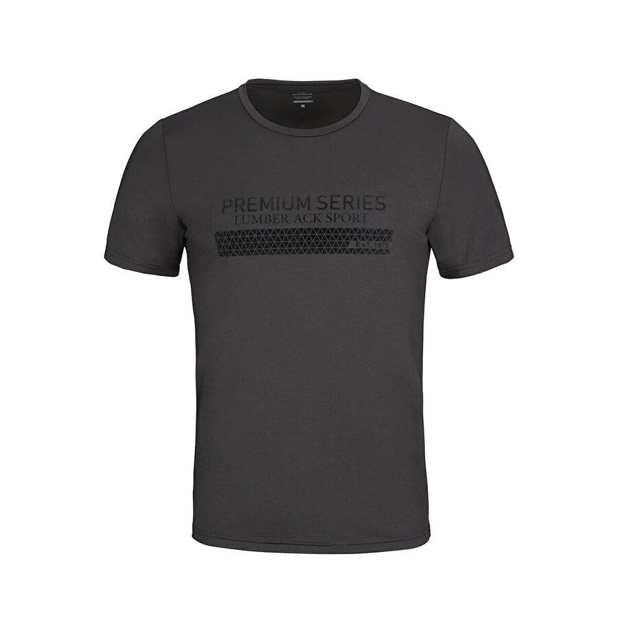 Lumberjack VICTOR T-SHIRT Siyah Erkek T-Shirt