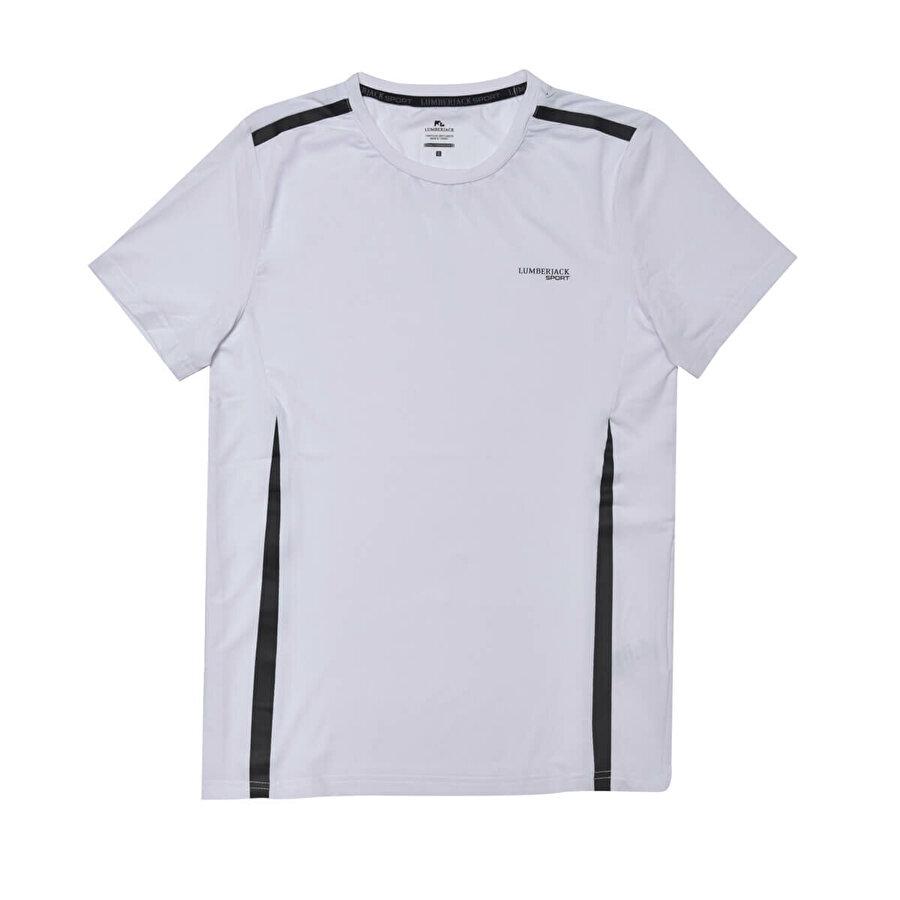 Lumberjack VICTOR 5 T-SHIRT Beyaz Erkek T-Shirt