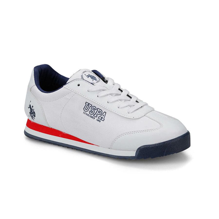 U.S. Polo Assn. DEEP SUMMER Beyaz Erkek Sneaker Ayakkabı