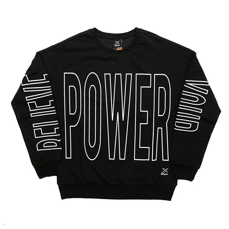 Kinetix CAREY SWEAT Siyah Kadın Sweatshirt