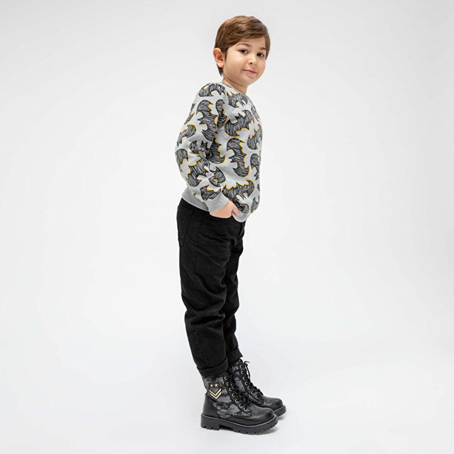 Polaris 82.510550.F Siyah Erkek Çocuk Bot