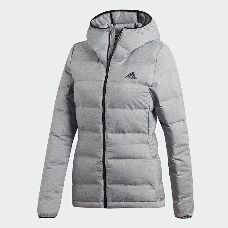 Adidas W HELIONIC MEL Gri Kadın Mont