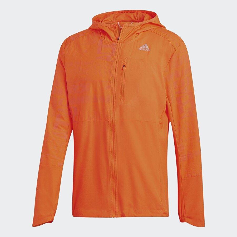 Adidas OWN THE RUN JKT Turuncu Erkek Ceket