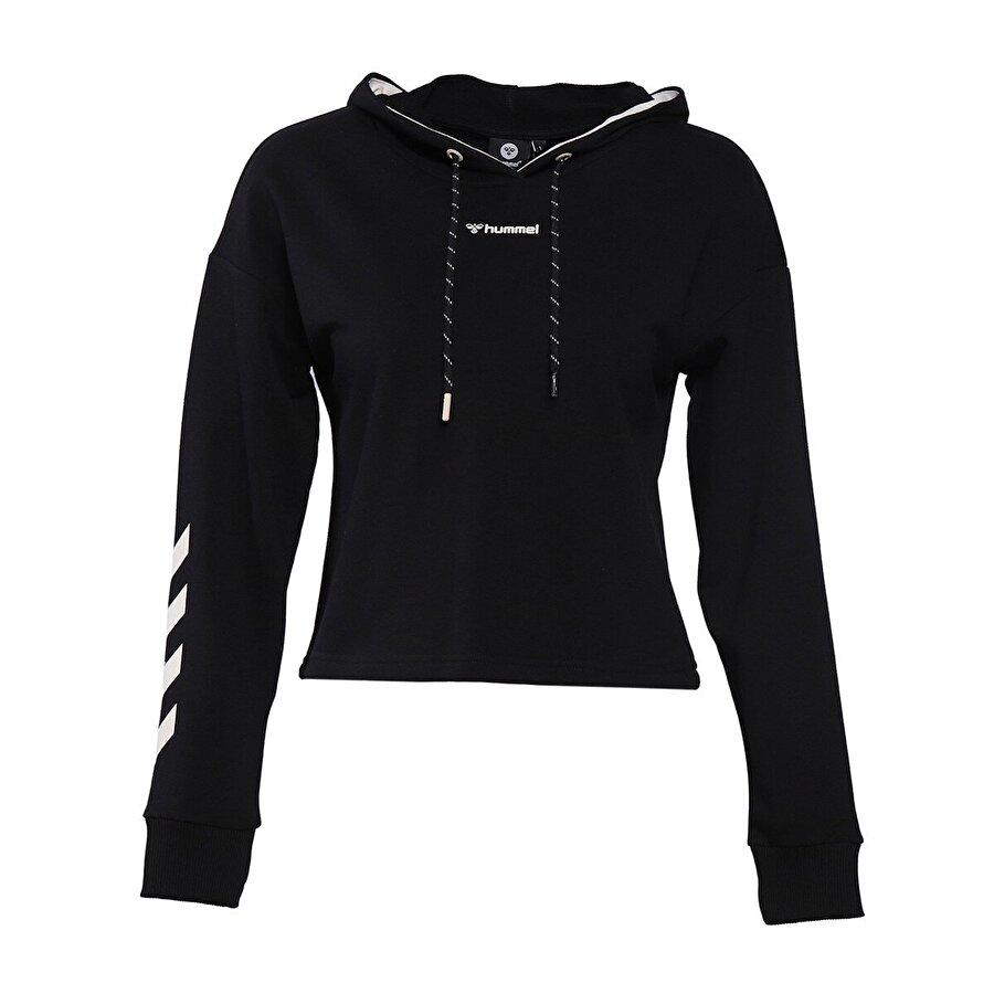 Hummel HMLMOSSA Siyah Kadın Sweatshirt