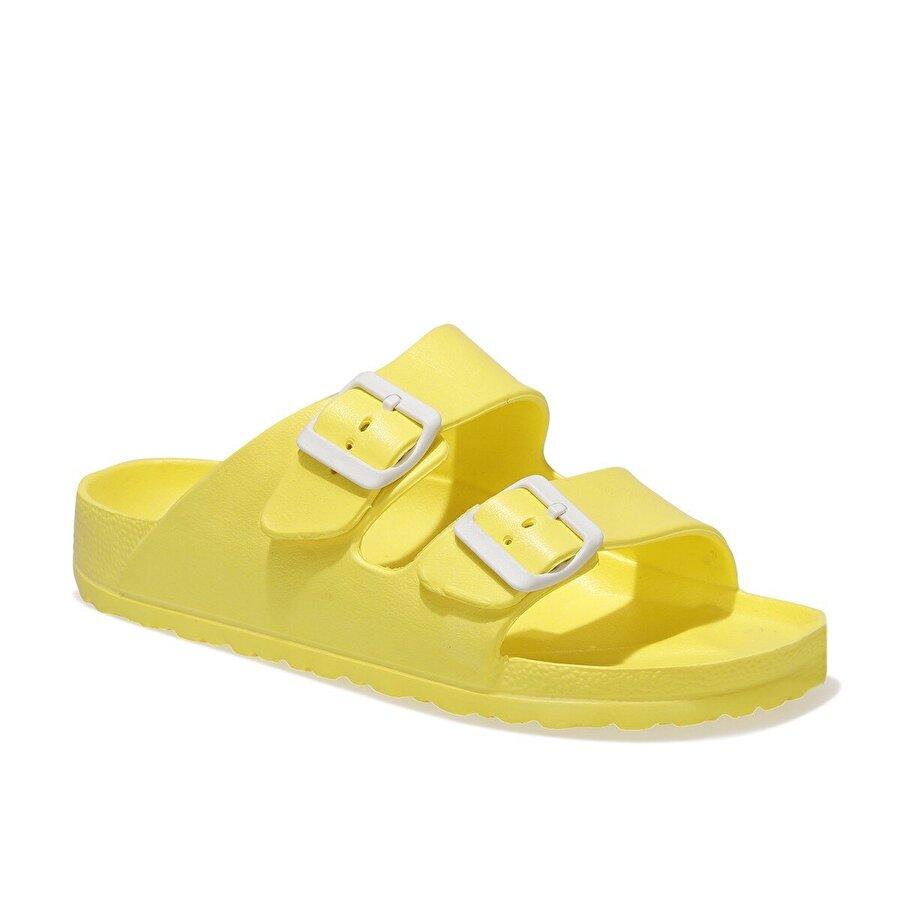 Polaris 400367.Z1FX Sarı Kadın Terlik