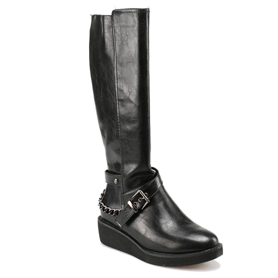 Miss F F17120 Siyah Kadın Çizme