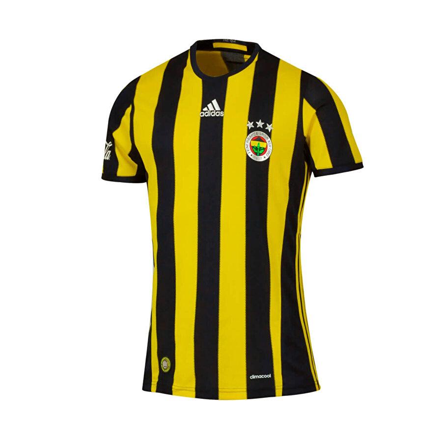 Adidas FB 16 HOME  SS Sarı Erkek Forma