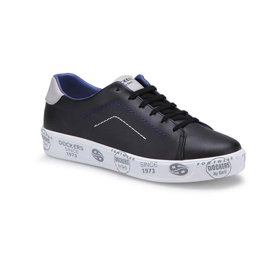 Dockers by Gerli 222220 Siyah Erkek Sneaker Ayakkabı