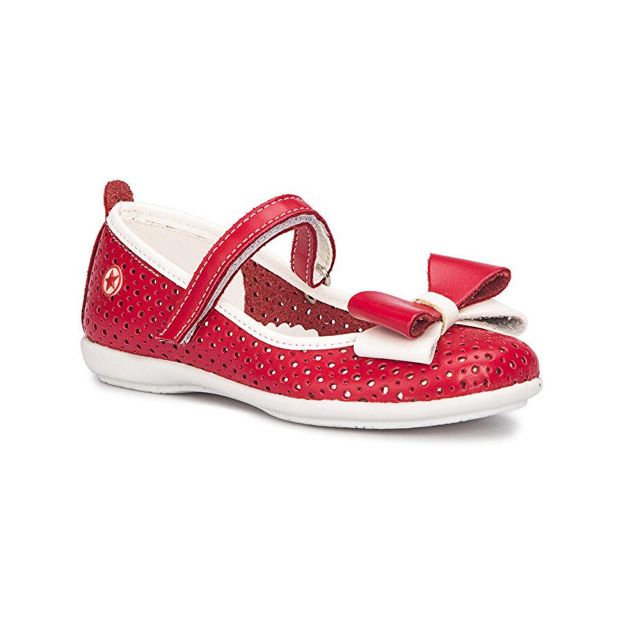 Polaris 71.509158.P Kırmızı Kız Çocuk Babet