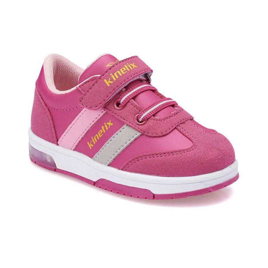 Kinetix TOBEY PU Koyu Fuşya Kız Çocuk Sneaker Ayakkabı