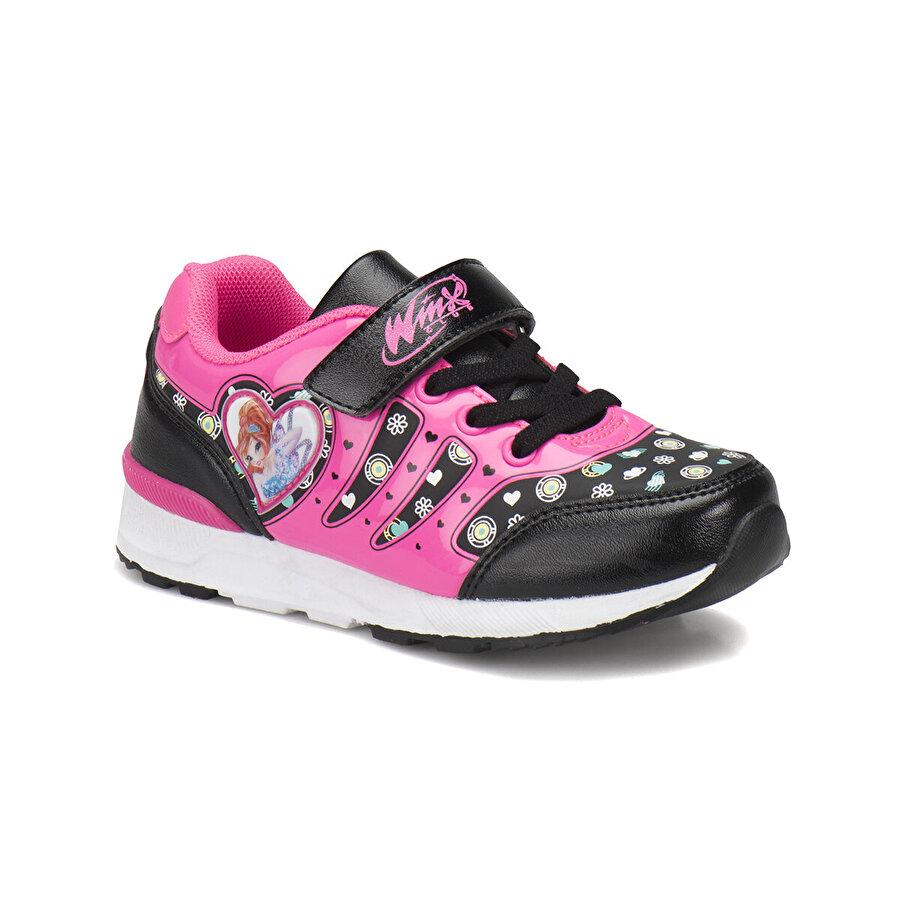 Winx WARSY Siyah Kız Çocuk Spor Ayakkabı