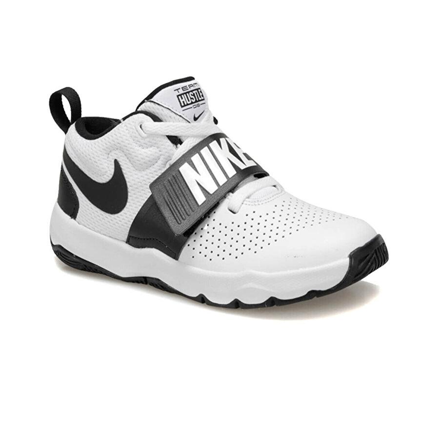 Nike TEAM HUSTLE D 8 (PS) Beyaz Erkek Çocuk Basketbol Ayakkabısı