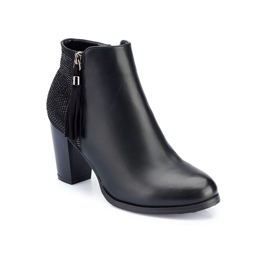 Polaris 82.310575.Z Siyah Kadın Topuklu Bot