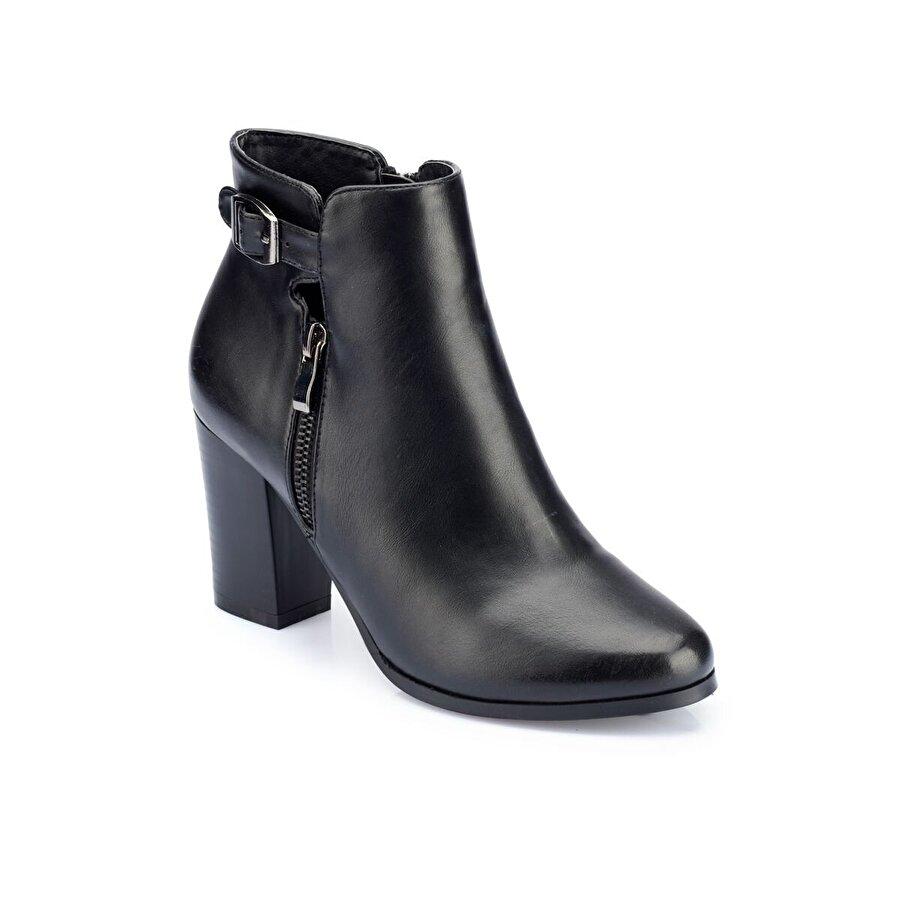 Polaris 82.309469.Z Siyah Kadın Topuklu Bot
