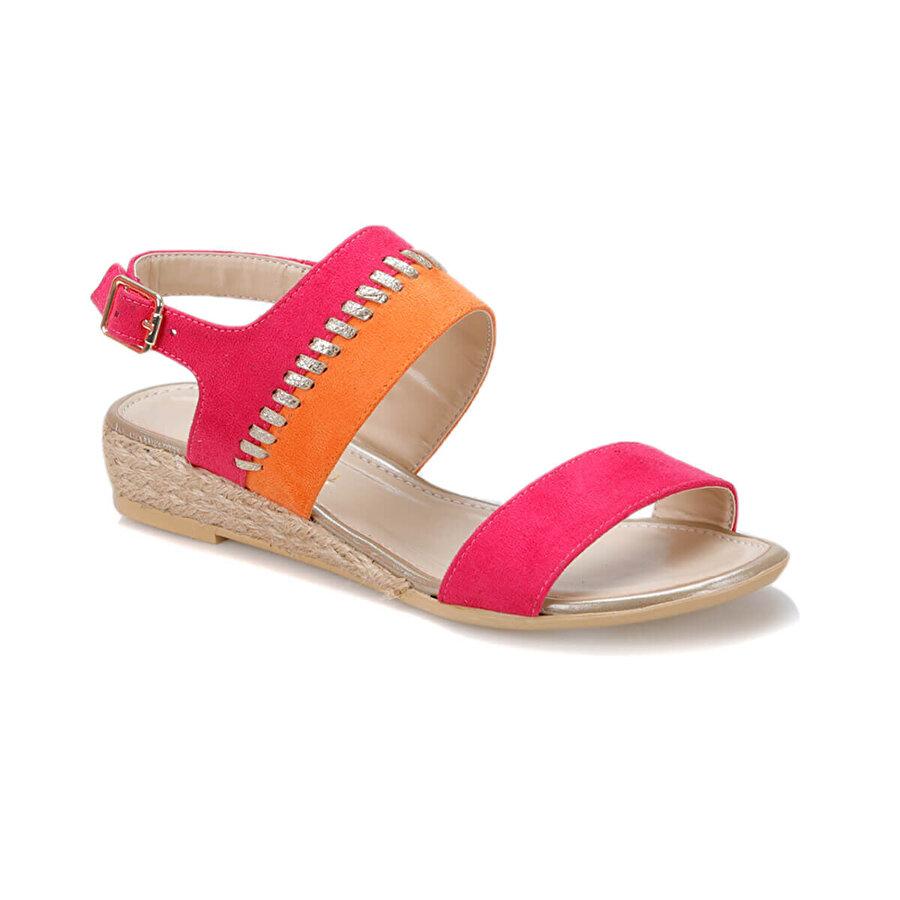 Butigo 19S-270 Pembe Kadın Düz Sandalet