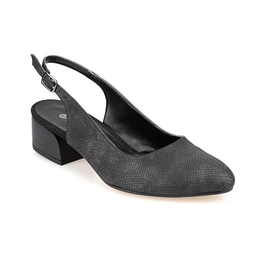 Polaris 91.313096YZ Siyah Kadın Gova Ayakkabı