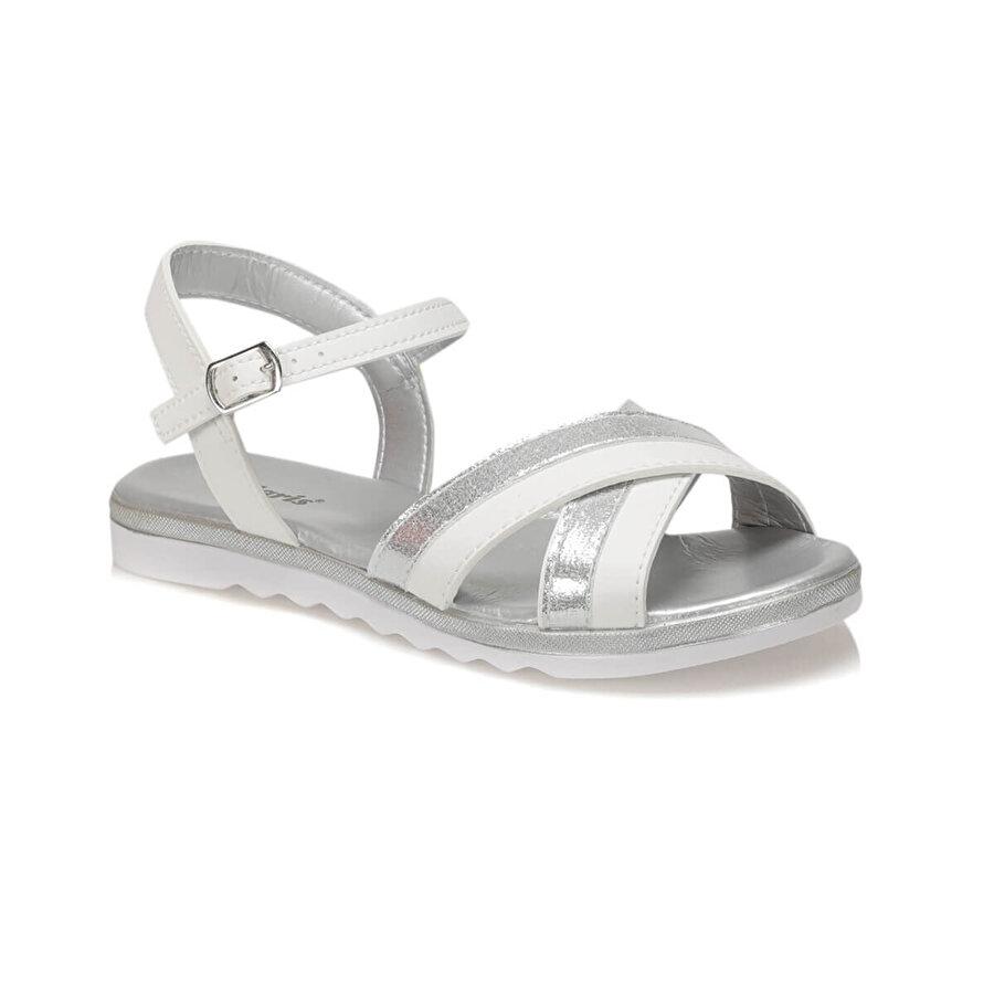 Polaris 91.313492.Z Beyaz Kadın Sandalet