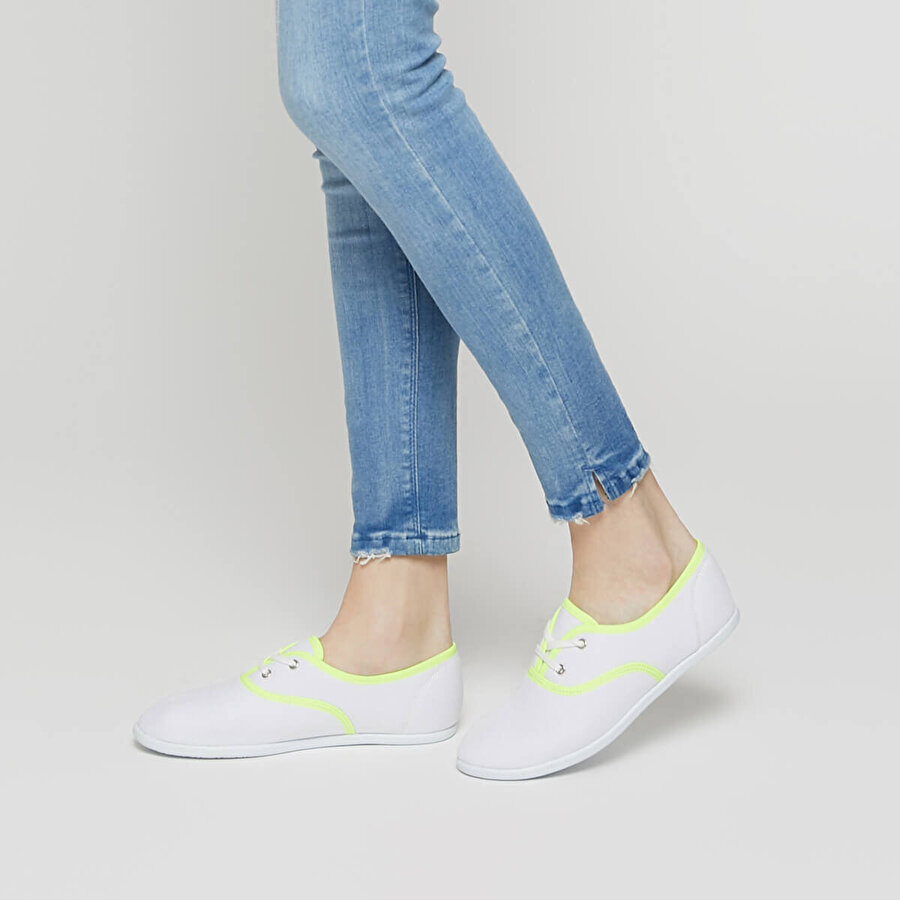 Art Bella CS19002 Sarı Kadın Sneaker Ayakkabı