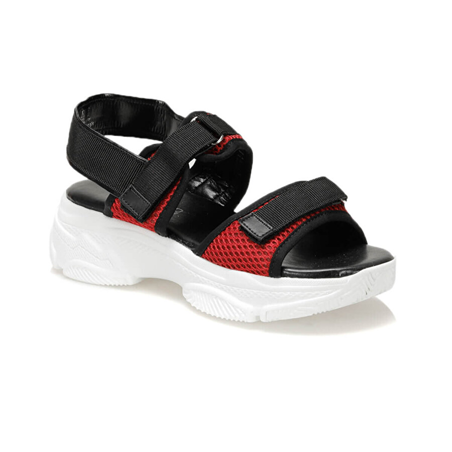 Butigo 19S-342 Kırmızı Kadın Sandalet
