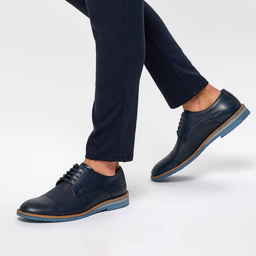 Garamond 3843 Lacivert Erkek Oxford Ayakkabı