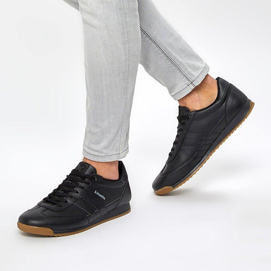 Kinetix HALLEY PU M 9PR Siyah Erkek Sneaker