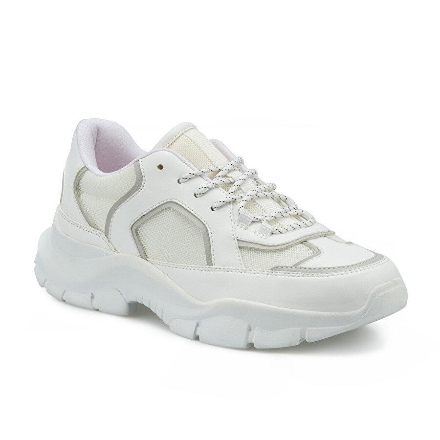 Kinetix FANS Beyaz Kadın Sneaker Ayakkabı