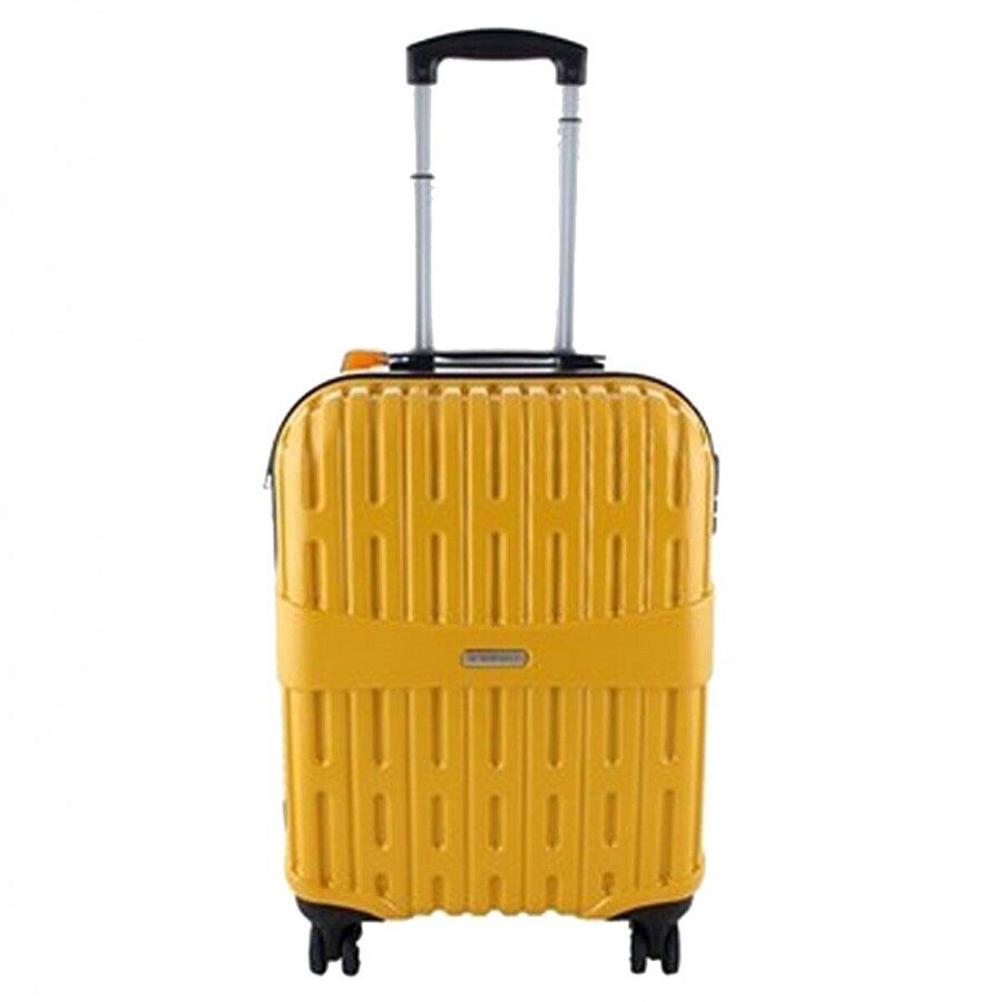 Ççs 05163 Sarı Kabin Boy Abs Valiz
