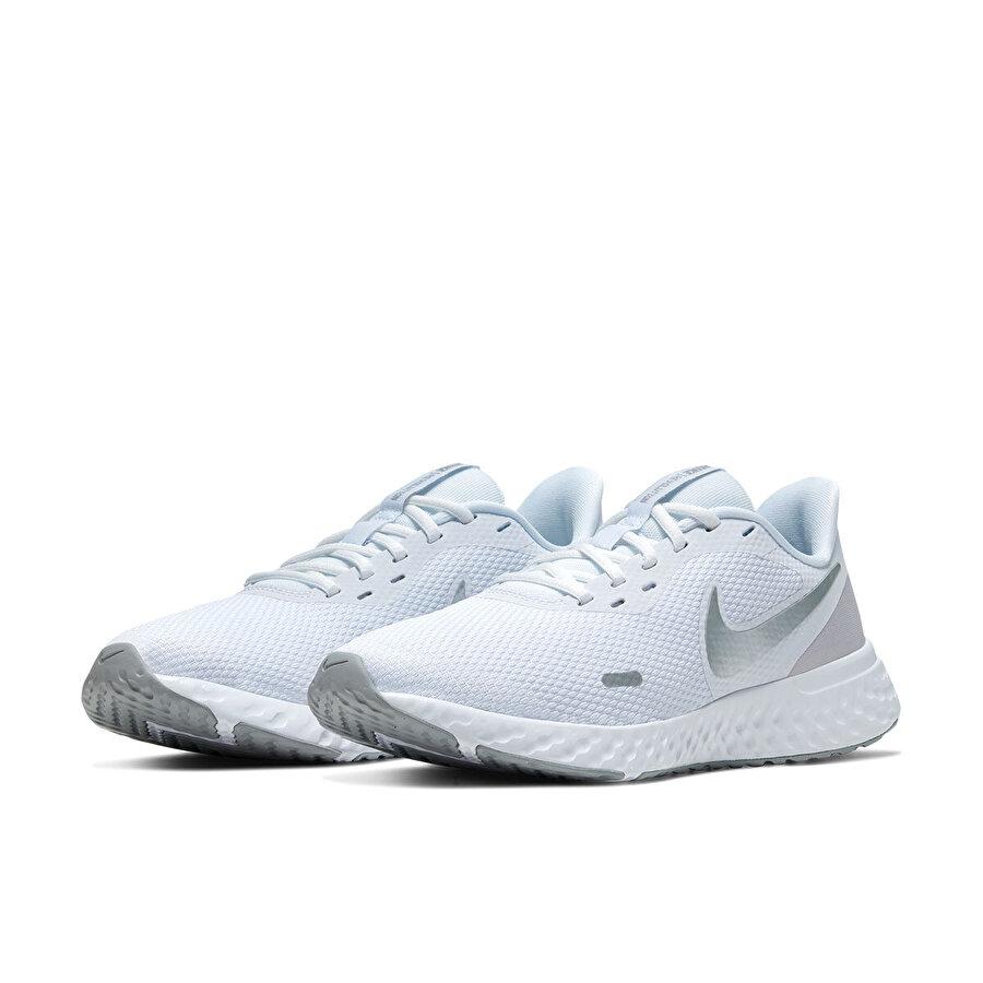 Nike REVOLUTION 5 Beyaz Kadın Koşu Ayakkabısı