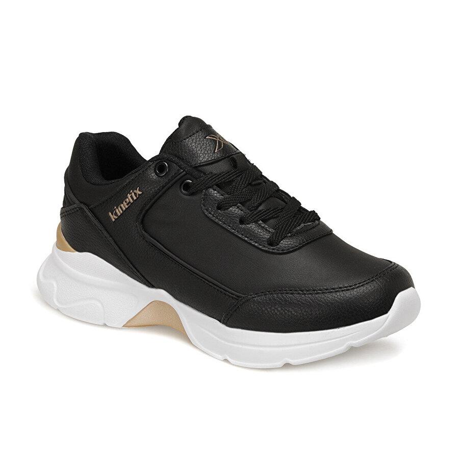 Kinetix PULL PU W Siyah Kadın Sneaker Ayakkabı