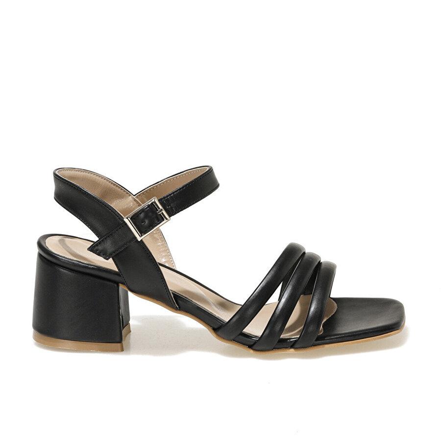 Butigo SKY 1FX Siyah Kadın Sandalet