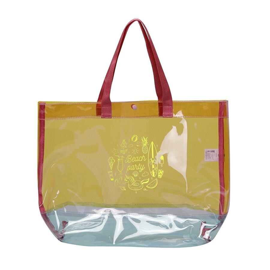 Butigo 21SWBAG1052 1FX Çok Renkli Kadın Plaj Çantası