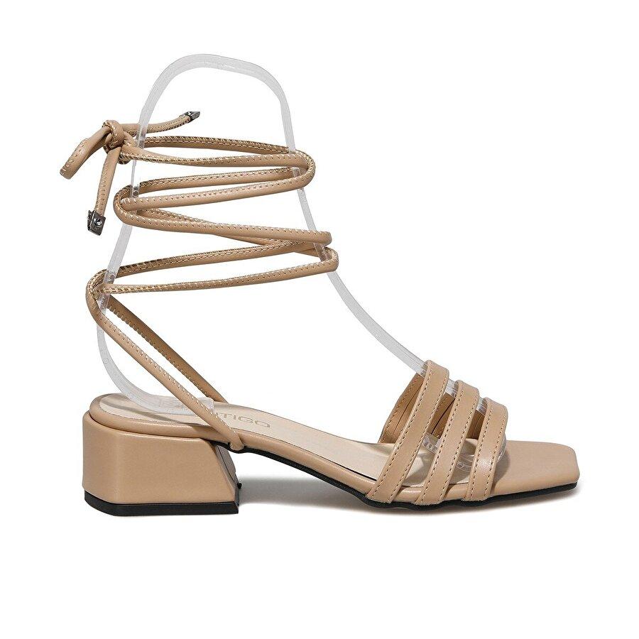 Butigo BELİZ 1FX NUDE Kadın Topuklu Ayakkabı