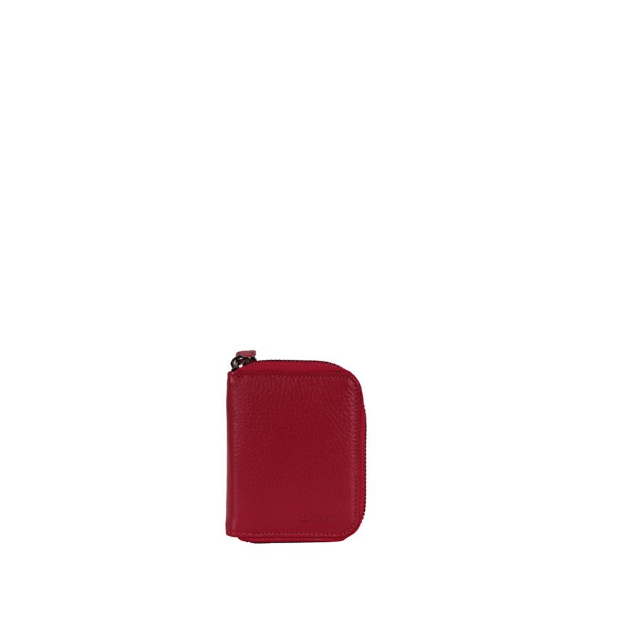 DERKON 00152 Kırmızı Erkek Hakiki Deri Cüzdan